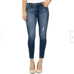 Kut from the Kloth Donna Ankle Skinny Released Hem